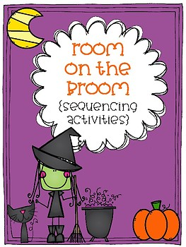 Room on the Broom sequencing activities