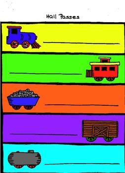 Room theme (trains)