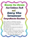 Room to Grow and Gary the Dreamer Common Core Activities