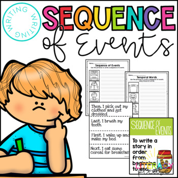 Sequence Of Events Powerpoint Worksheets Teaching