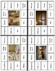 Rooms In A House Vocabulary Clip Cards