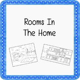 Rooms In My Home Color And Write ESL