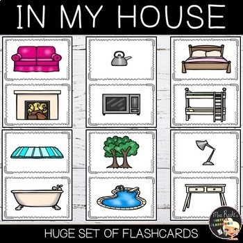 Rooms and Furniture Flashcards