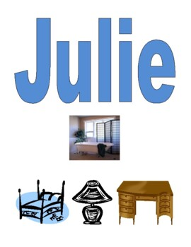 Rooms and Furniture in English Detectives speaking activity