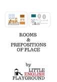 Rooms and prepositions of place