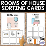 Sorting by Categories Rooms in the House