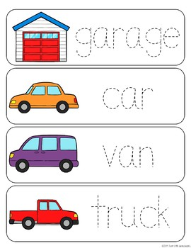 Rooms of the House Vocabulary Word Wall Cards - BUNDLE