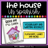 Rooms of the House in Spanish Booklet - Partes de la Casa