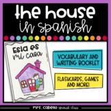 Rooms of the House in Spanish Booklet - Partes de la Casa