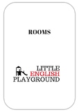 Rooms - printable pictures Furniture, prepositions of place
