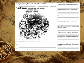 Roosevelt and the Court - Investigating Primary Documents: Political Cartoons
