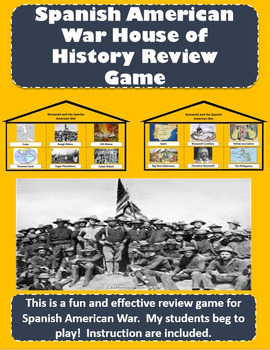 Roosevelt and the Spanish American War - House of History Review Game