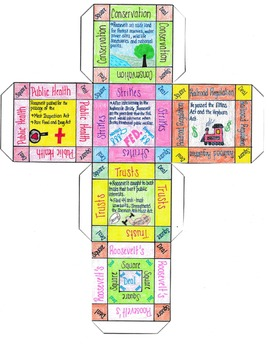 Roosevelt's Square Deal Cube Project