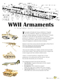 Roosevelt's Four Freedoms Speech: World War II Armaments P