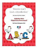 Rooster Can't Cock-a-Doodle Doo Alphabet Activity Pack