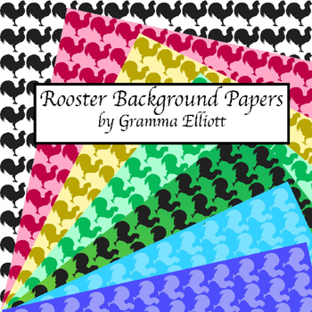 Rooster Digital Paper 12x12