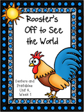 Rooster's Off to See the World, Kindergarten, Centers and Printables
