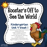 Kindergarten Reading Street Rooster's Off to See the World