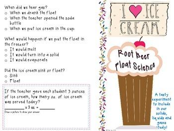 Root Beer Float Science