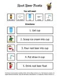 Root Beer Floats Visual Recipe