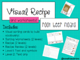 Root Beer Floats (Visual Recipe & Worksheets)