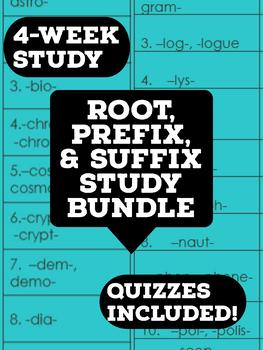 Root, Prefix, & Suffix Bundle