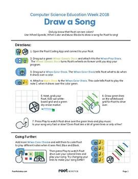 Root Robot Draw a Song (Beginner)