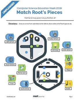 Root Robot Pieces (Beginner)