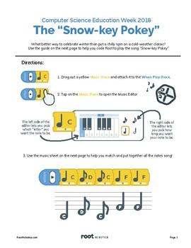 Root Robot Snowkey Pokey (Beginner)