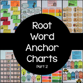 Root Word Anchor Charts Only (Set #2)
