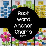 Root Word Anchor Charts Only (Set #4)