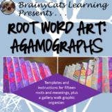 Root Word Art: Agamographs