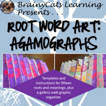 Root Word Art: Agamographs