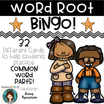Root Word BINGO! *32 different cards!*