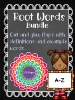 Root Word Bundle (A-Z)