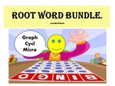 Root Word Bundle...Bingo, Matching Cards, Tests and Forms!!!