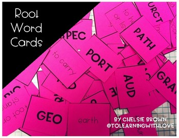 Root Word Cards