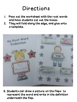 Root Words (DEFG)