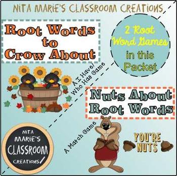 Root Word Games by Nita Marie
