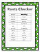 Root Word Match Game