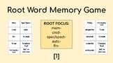 Root Word Memory Game [1]