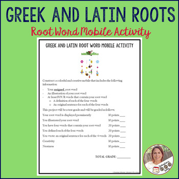 Root Word Mobile Activity