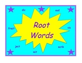 Root Word Practice Packet