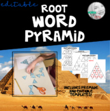 Root Word Pyramid