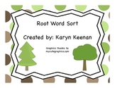 Root Word Sort