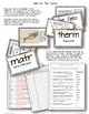 Earth Science Vocabulary Task Cards