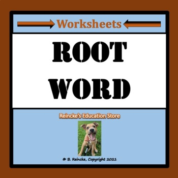 Root Word Worksheets
