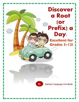 Root Words and Prefixes - Daily Practice for the Entire School Year!