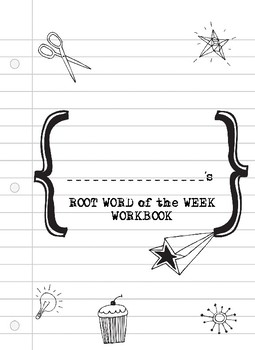 Root Word of the Week Workbook- 37 Pages of Root Words to Review