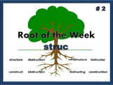 Greek & Latin Root Word: struc